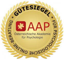 Gütesiegel Psychologische Online-Beratung